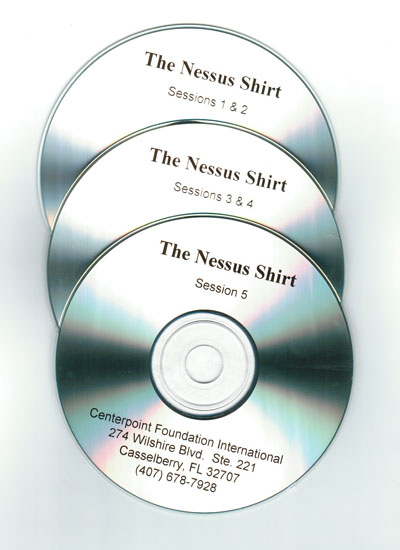 The Nessus Shirt CDs