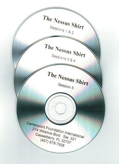 The Nessus Shirt CDs